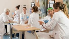 Healthcare Students Engage in New Classrooms
