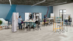 360 magazine unleashing team creativity with steelcase flex