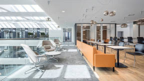 360 magazine wellbeing through workplace design