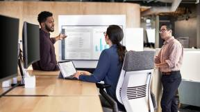 360 magazine steelcase sprint + ericsson explore 5g iot at work