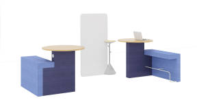 Orangebox Border, Steelcase Flex Whiteboard, Steelcase Flex Stand