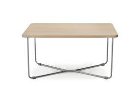 Square wooden B-Free Coffee Table
