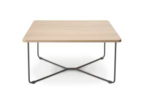 Square wooden B-Free Corner Table