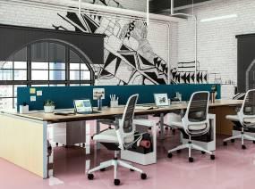 Modern office workstations Workstation Design Frameone Executive Desks Modern Office Furniture By Edeskco Modern Office Bench Seating Workstations Steelcase