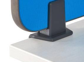 Screen on Desk on white