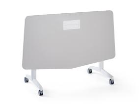 Verb chevron table on white