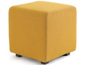 Yellow B-Free Cube