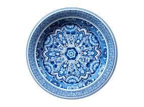 Delft Blue Plate Moooi Carpets