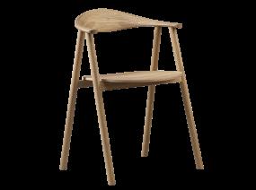Chaise Bolia sur fond blanc