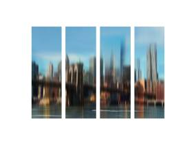 Art Addiction NYC Blur Modular Set of 4