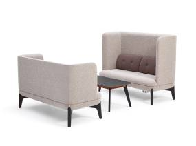 Coze Lounge Seating On White