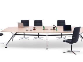 Orangebox Lano Meeting + Classroom Tables On White
