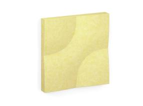 Truchet Acoustic Tiles On White