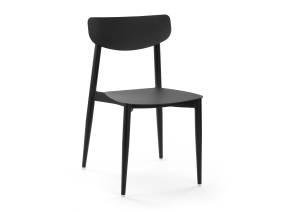 Black Ally Chair by m.a.d. furniture on white background