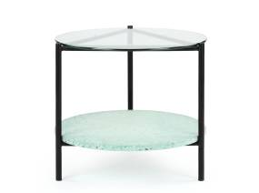 Terrazo Coffee Table by m.a.d. furniture on white background