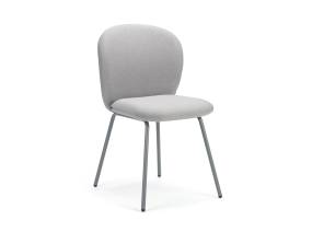 Gray Petal chair by m.a.d furniture on white background