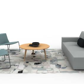 sistema lounge system by coalesse montara650 lounge coffee table ch008 planning idea