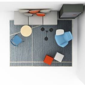 aim bfree lessthanfive chair massaud seating groupwork planning idea