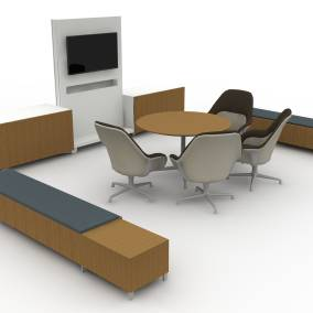 exponents credenza exponents bench exponents whiteboard and mobile display sw 1 seating planning idea