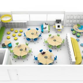 Floorplan of K5 Education room planning idea