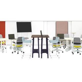 Series One Chair, Flex Work Table, Flex Slim Table, Flex Markerboard, Flex Screen, Flex Stand Table, Flex Board Cart, Flex Wall Rail