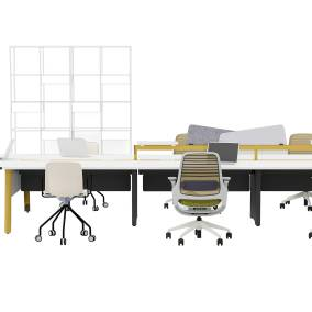 Planning Ideas FBO Seated Height, Sarto Privacy Screen, Steelcase Series 1, Grado Every Chair, m.a.d. Urban Shelves