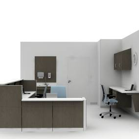 Convey Modular Casework, Montage Panel Systems, Amia Chair, Flow Whiteboard Planning Idea