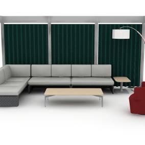 Post and Beam, Lagunitas Lounge, Bassline Table, Ari Floor Lamp, Joel Chair Planning Ideas