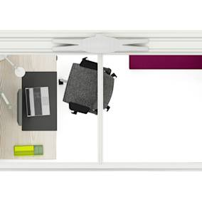 Steelcase Ology Desk Steelcase Volley Monitor Arm Steelcase Cable Manager Steelcase 1+1 Organisation Tools Steelcase Dash Mini Light Steelcase Gesture Chair Orangebox Air23 Pod Coalesse Davos Bench
