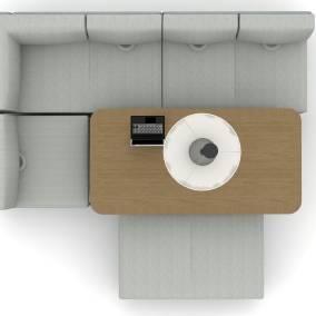 Lagunitas Lounge, Lagunitas Table, LessThanFive Chair