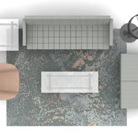 Millbrae Table, Bob Seating, Millbrae Lounge Seating Planning Idea
