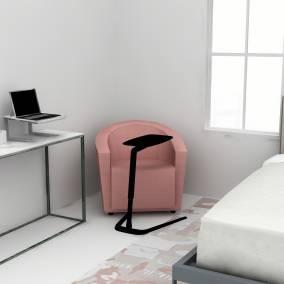 Coalesse Freestand Table, Soto Laptop Shelf, Soto Pencil Box