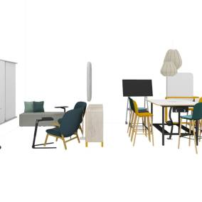 Steelcase FrameFour Workbench Steelcase Cavatina Stool Steelcase Roam Cart Steelcase Truchet Acoustic Tiles Steelcase Flex Collection Steelcase B-Free Cube Steelcase ShareIt Storage Coalesse Freestand Laptop Table Bolia Ballon Pendants Bolia Cosh Chair