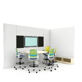 Steelcase Series 1, Media c:scape, Universal Storage, V.I.A. Planning Idea