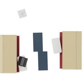 Steelcase Softwork Umami Platform, Steelcase Mediascape Lounge, Coalesse Lagunitas Personal Table