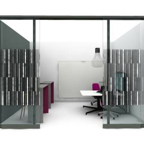 Coalesse Enea Stool Steelcase SILQ Chair Polyvision Flow Steelcase media:scape Steelcase Campfire Slim Table Steelcase V.I.A. Walls