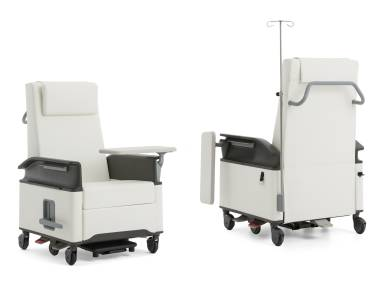Empath with tablet arm Patient Chair on White