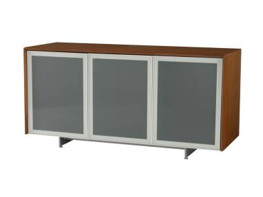 Coalesse Host Credenza Storage Solution Steelcase - Frosted glass conference room table