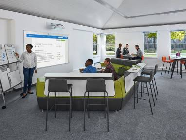 Space Design For Informal Amp Transitional Education Spaces