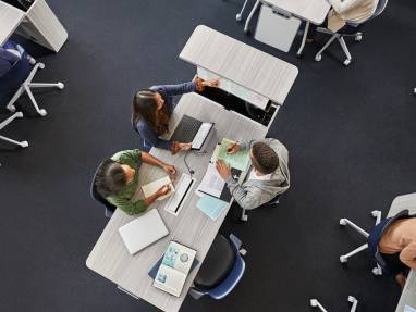Verb Active Media Table by Steelcase Education