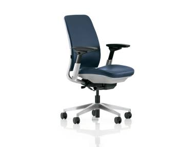 Amia office chair on white