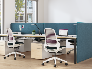 Workstation with Divisio Acoustic Screen