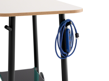 Steelcase Flex Power Hanger cable management