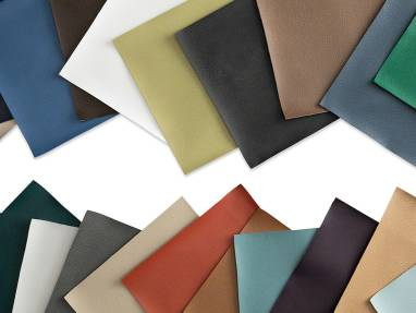 Brisa Selection of colored surface materials