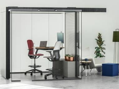 Work Environment with Mackinac Privacy Pods
