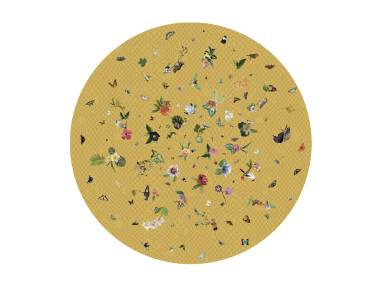 Garden of Eden Yellow Moooi Carpets On White