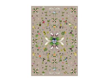 Garden of Eden Beige Moooi Carpets On White