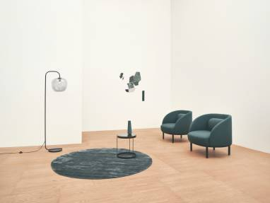 Bolia Fuuga Armchair with Drum Coffee Table