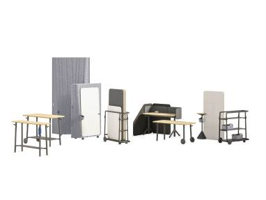 Steelcase Flex Collection on white