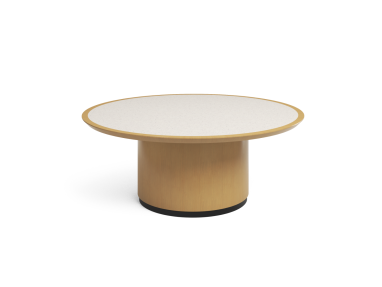 Convene Table On White